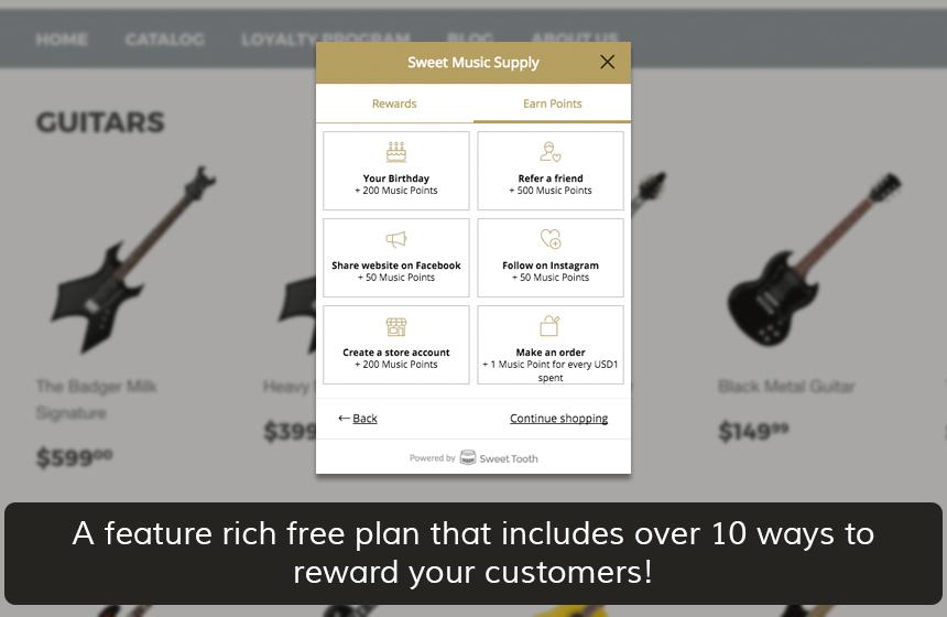 Loyalty Reward Points - Shopify