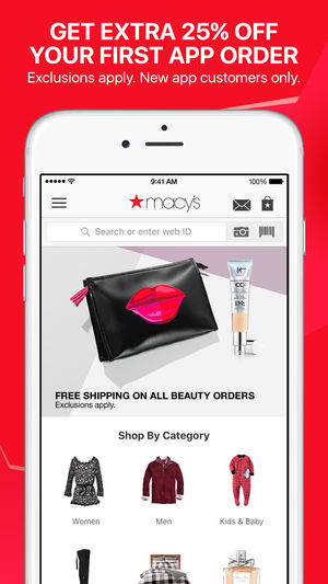 macy's app - growth of mobile apps