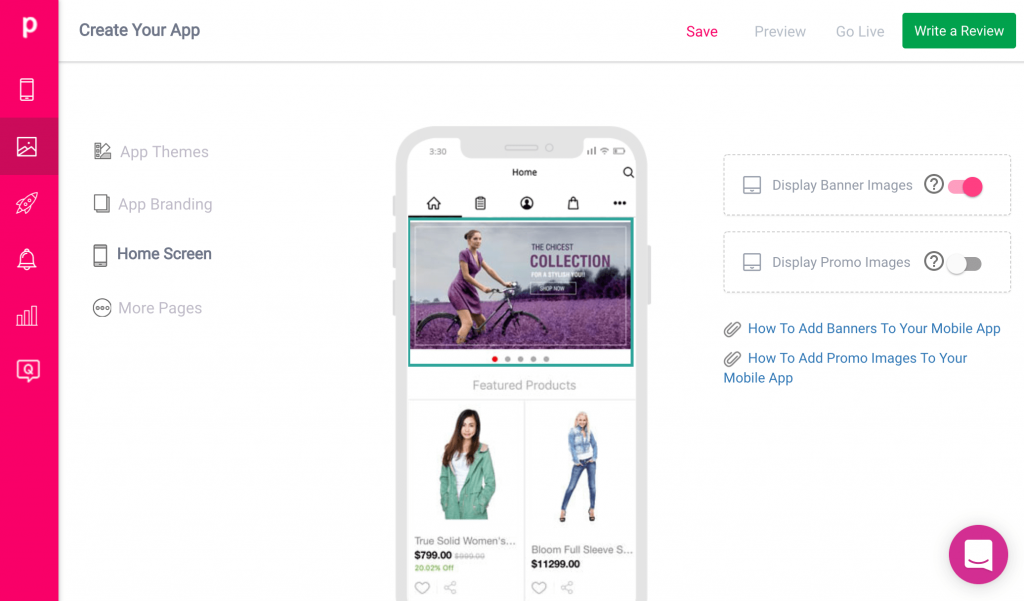 turn your shopify store into an app plobal apps