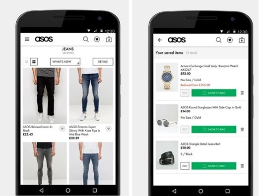 asos growth of mobile apps