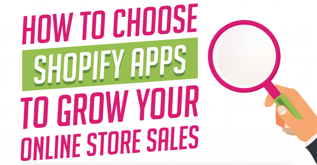how to choose shopify apps infographic