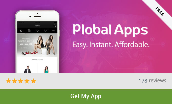 PlobalApps Shopify Mobile App