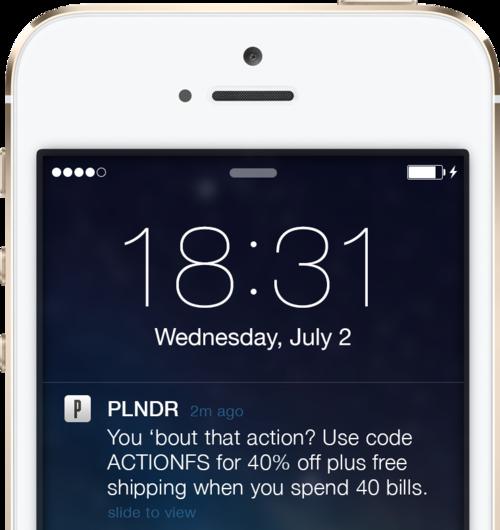 reduce cart abandonment push notification 1