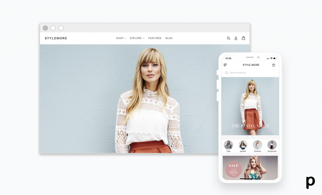 turn your shopify store into mobile app - appcommerce plobal