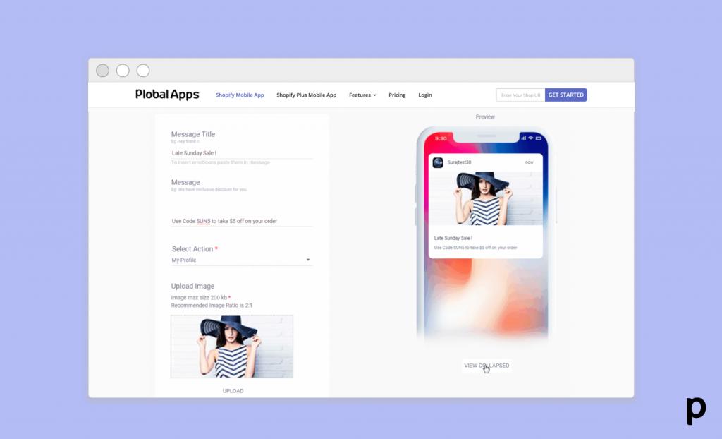 appcommerce in fashion - push notifications