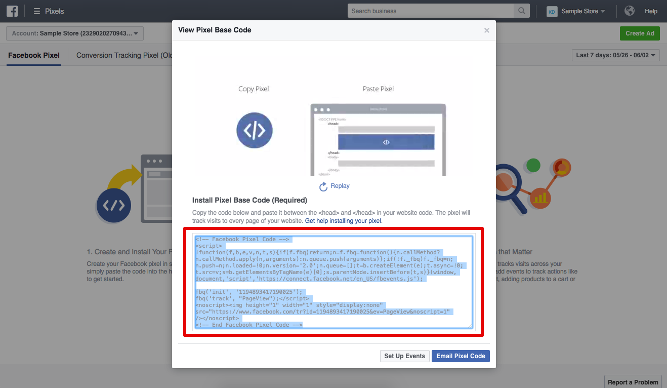 How to add Facebook Pixel to Shopify -