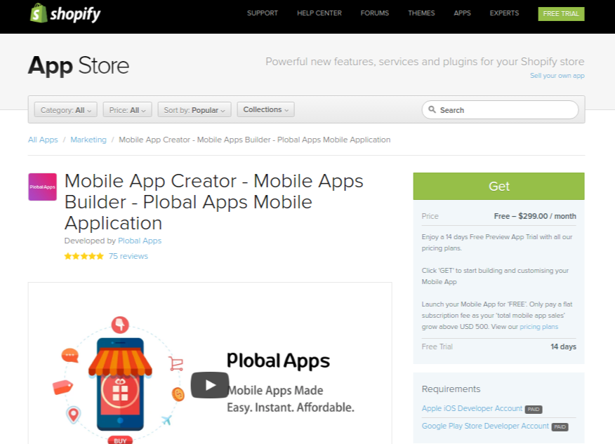 Shopify how to install apps -
